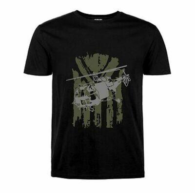 Alouette III Kids T-Shirt Black