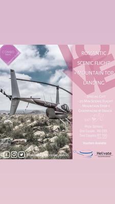 Valentine's Combo Scenic Flight + Mountain Top Landing