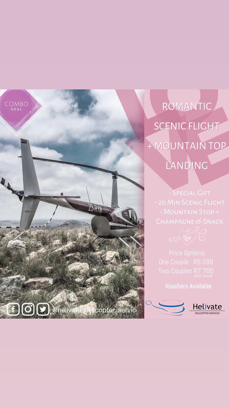 Valentine's Combo Scenic Flight + Mountain Top Landing