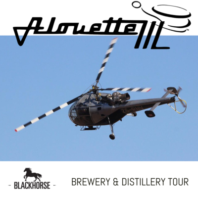 Alouette III Brewery & Distillery Tour for 5 people