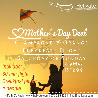 Mother's Day Deal Flight, Bubbly & picnic