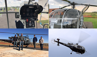 Black Ops Mission Ex-Military Alouette III