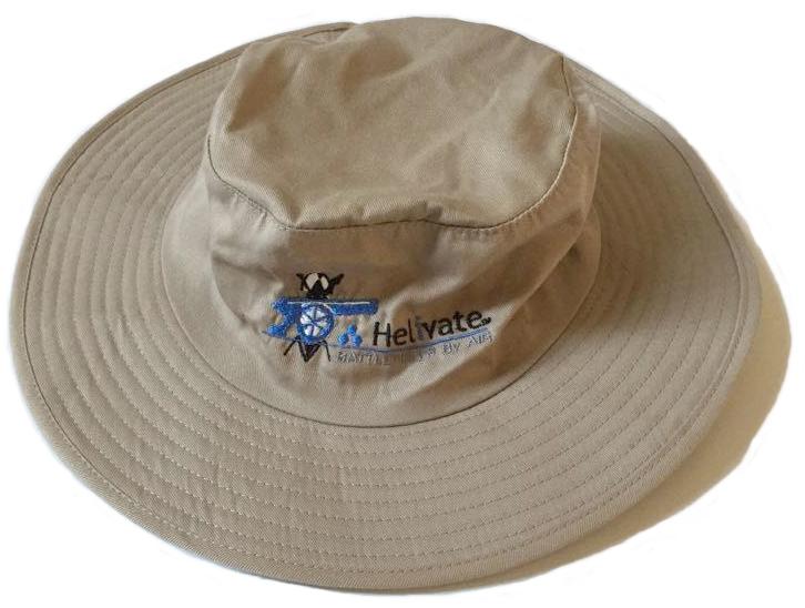 "Helivate Special Edition ""Battlefields"" Bush Hat (Beige)"