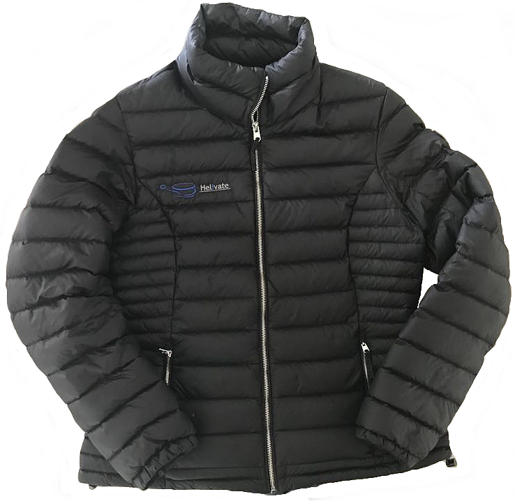 Helivate Down Jacket (Charcoal)