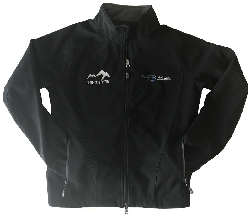 Helivate Limited Edition Mountain Flying Jacket (Black)