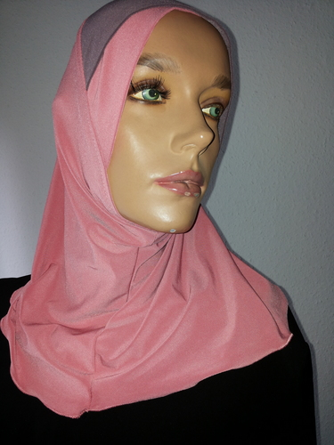 Long Bonnet rose grey