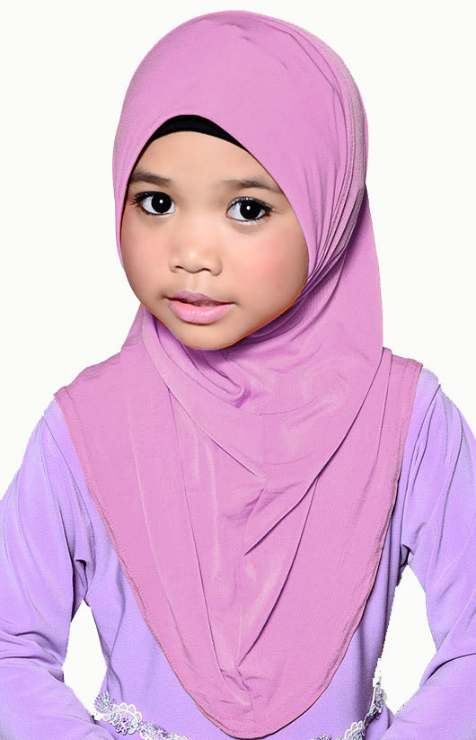 Girls Hijab Pink
