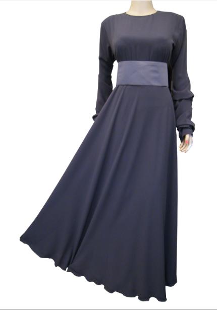 Abaya mit Gürtel / Abaya cintrée