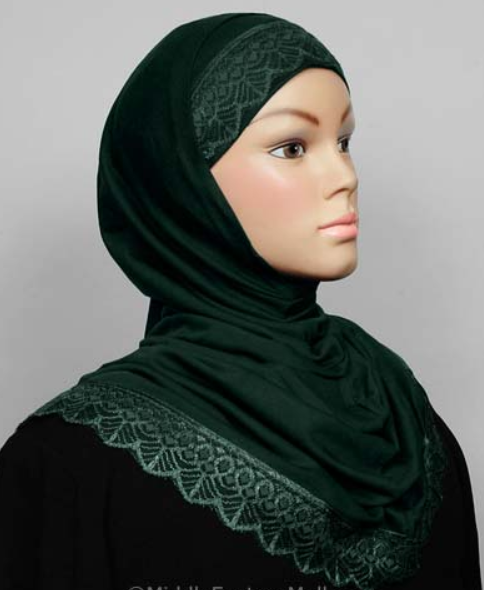 Amira Hijab Forest Green