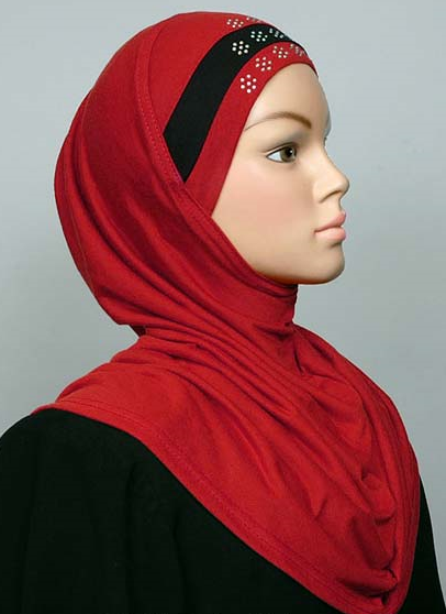 Amira Cotton Red / Black