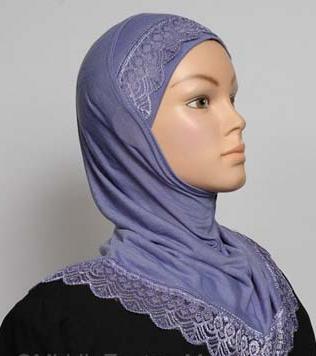 Girls Hijab Lavender
