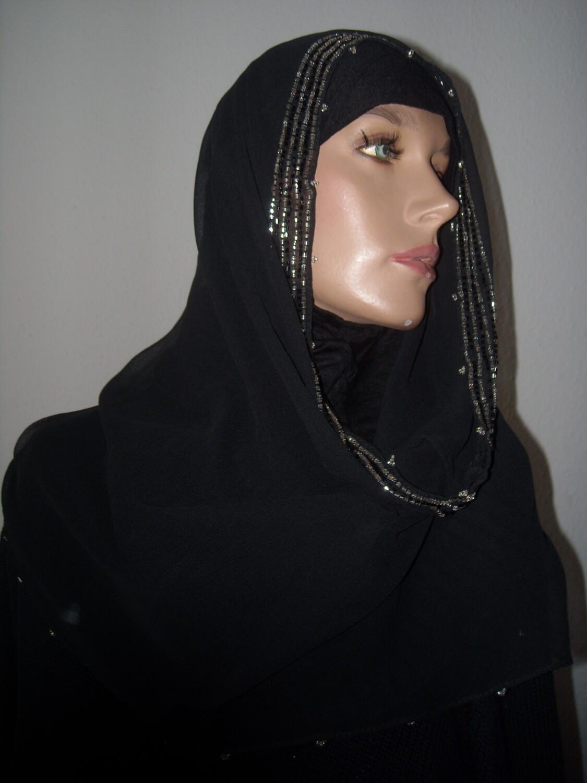 Hangover Hijab Black