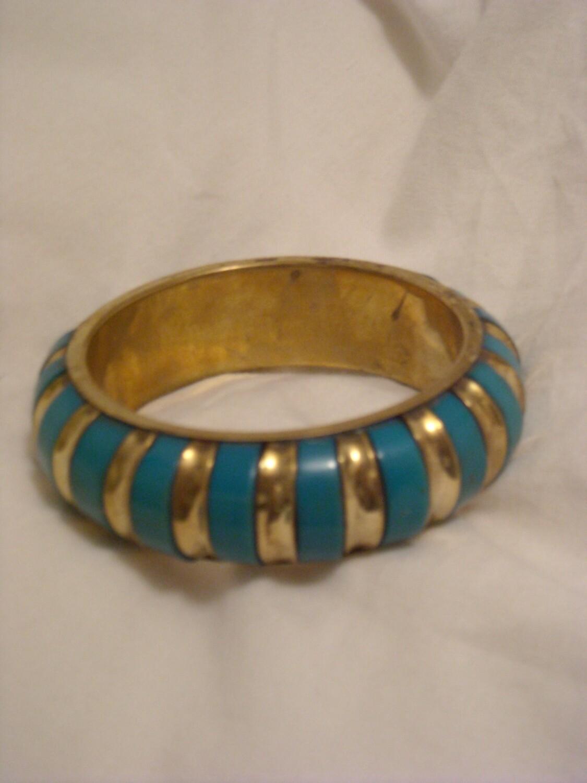Bracelet turquoise / gold