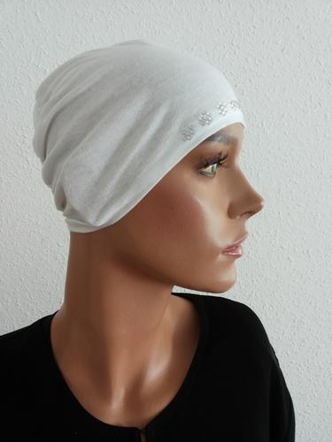 Hijab Cap White 589