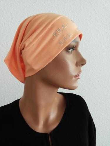 Hijab Cap Saumon