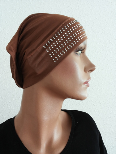 Hijab Cap Brown