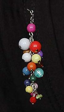 Hijab pin boules colorées