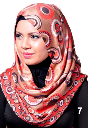 Pashmina Beige / Orange