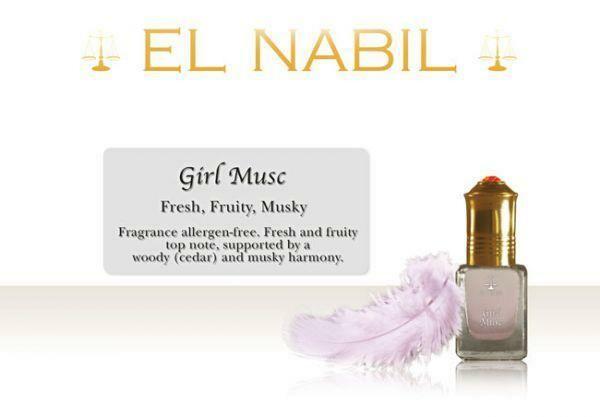 Parfums El Nabil, Girls Musc