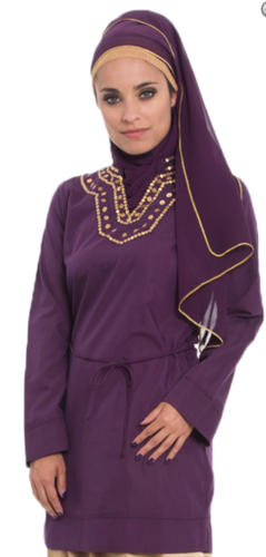 Silky Tunic Purple