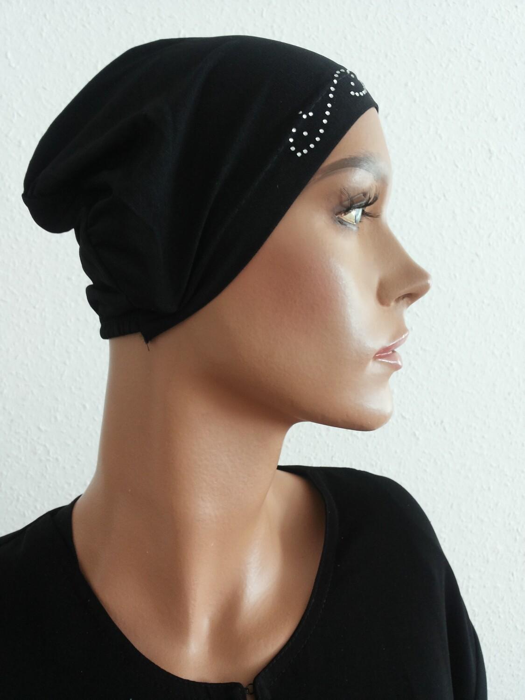 Hijab Cap Black 588