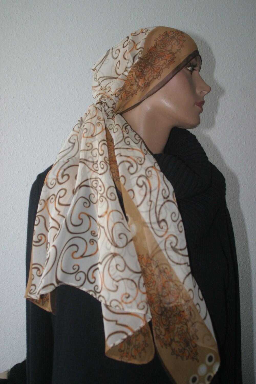 Schal mousseline - Echarpe mousseline - Mousseline scarf