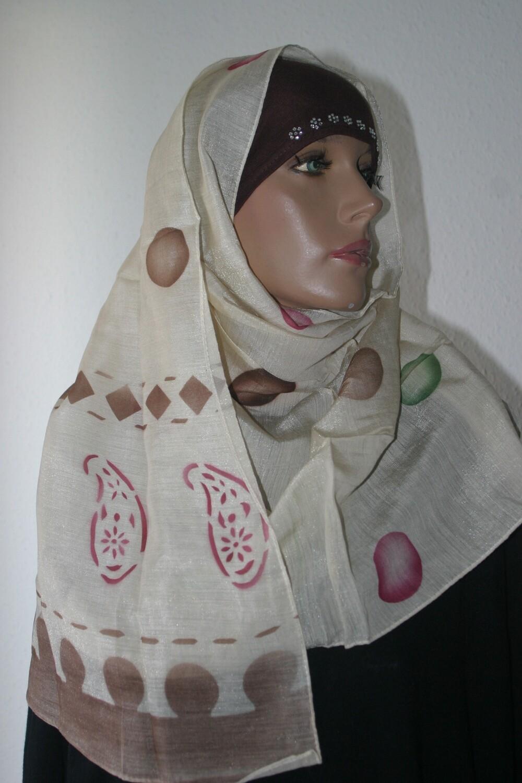 Schal beige / Echarpe beige / Beige scarf