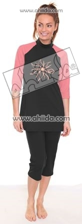 Ahiida® Sun Safe Black / Coral