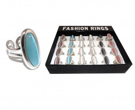 Fingerringe mit echten Steinen / Bagues aux pierres véritables / Rings with real stones