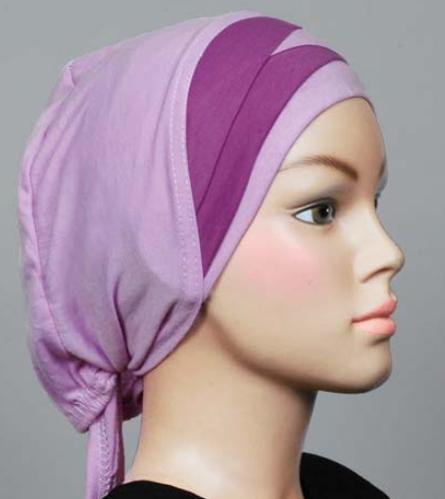 Bonnet violett / mauve / lilac