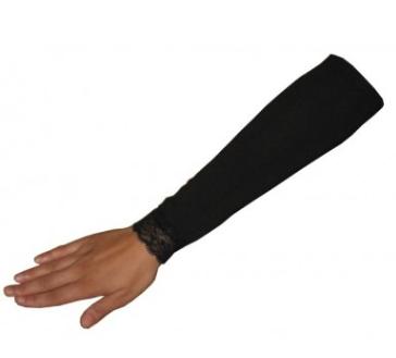 Aermel kurz schwarz / Manches noires, court / Short black sleeves