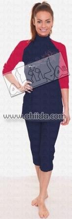 Ahiida® Sun Safe Navy Passion Silver Lili