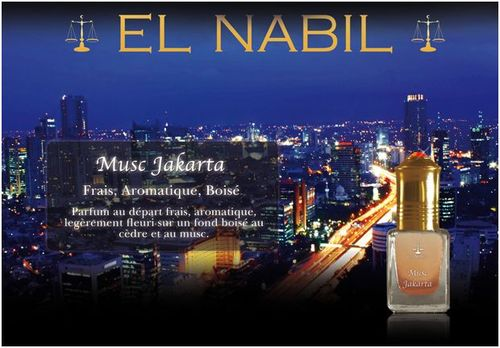 Parfums El Nabil Musc Jakarta