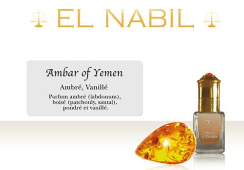 Parfums El Nabil Amber of Yemen