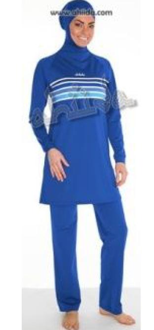 Ahiida Burqini® Slim Fit Navy Stripes End of season SALE