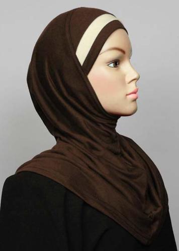 Einteiliger Amira, Baumwolle, braunbeige / Amira cotton brun et beige / Amira cotton brown + beige