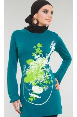 """Designer T-Shirt """"Qalbi - My Heart"""" M"""