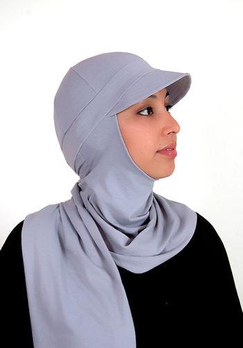 Modiste Hijab Iman hellgrau / gris clair / light grey