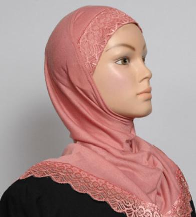 Girls Hijab rose