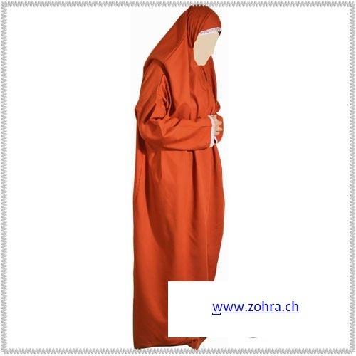Gebetskleidung einteilig / une pièce / one piece Fuchsia