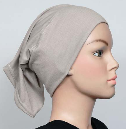 Bonnet hellgrau / gris clair / light grey