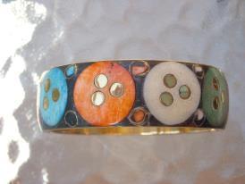 Bracelet Bois multicolore