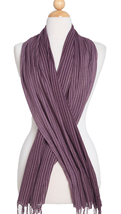 Schal - Echarpe - Wrap Purple