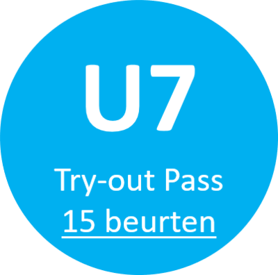 U7 Try-out Pass (15 beurten)