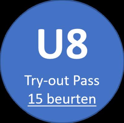 U8 Try-out Pass (15 beurten)