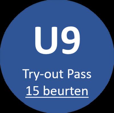 U9 Try-out Pass (15 beurten)