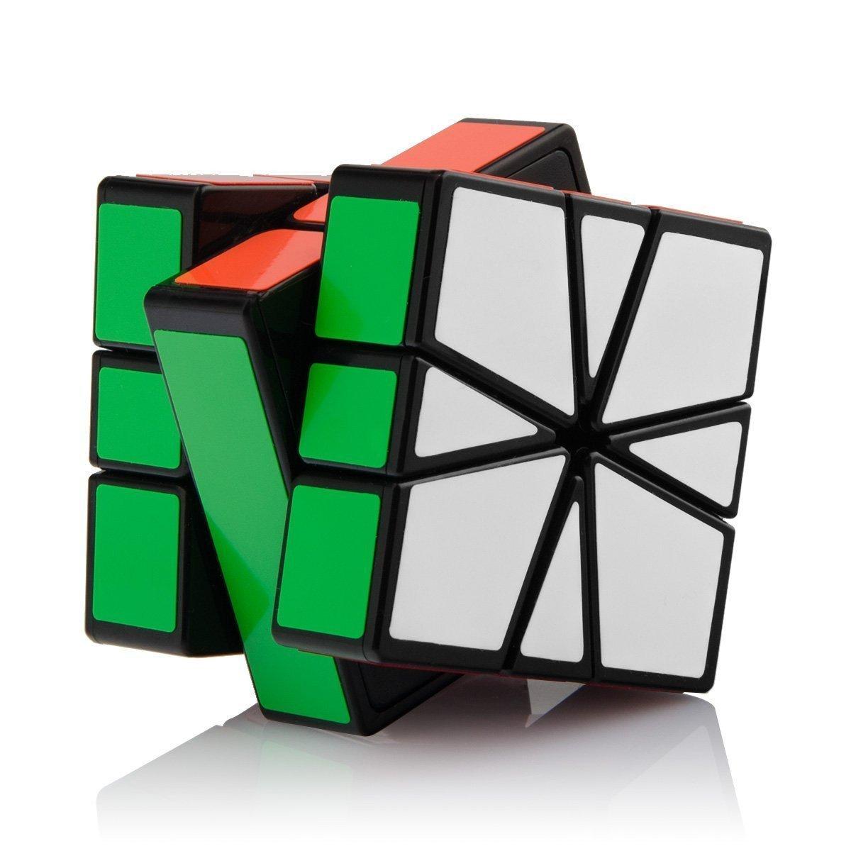 Guanlong SQ-1 Non-cubic Speed Cube Square-1 Shapes Puzzles Cube Black