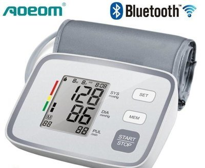 Bluetooth Blood Pressure Monitor - App Controlled - IOS & Android