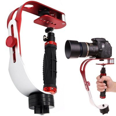 Video Camera Stabilizer for GoPro, Smartphone, Canon, Nikon or any camera up to 2.1 lbs.