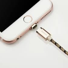 Baseus Metal Magnetic Charging Cable Lightning USB for iPhone